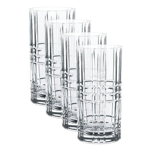 Vasos Altos - Set de 4 Mixto -  Vzla
