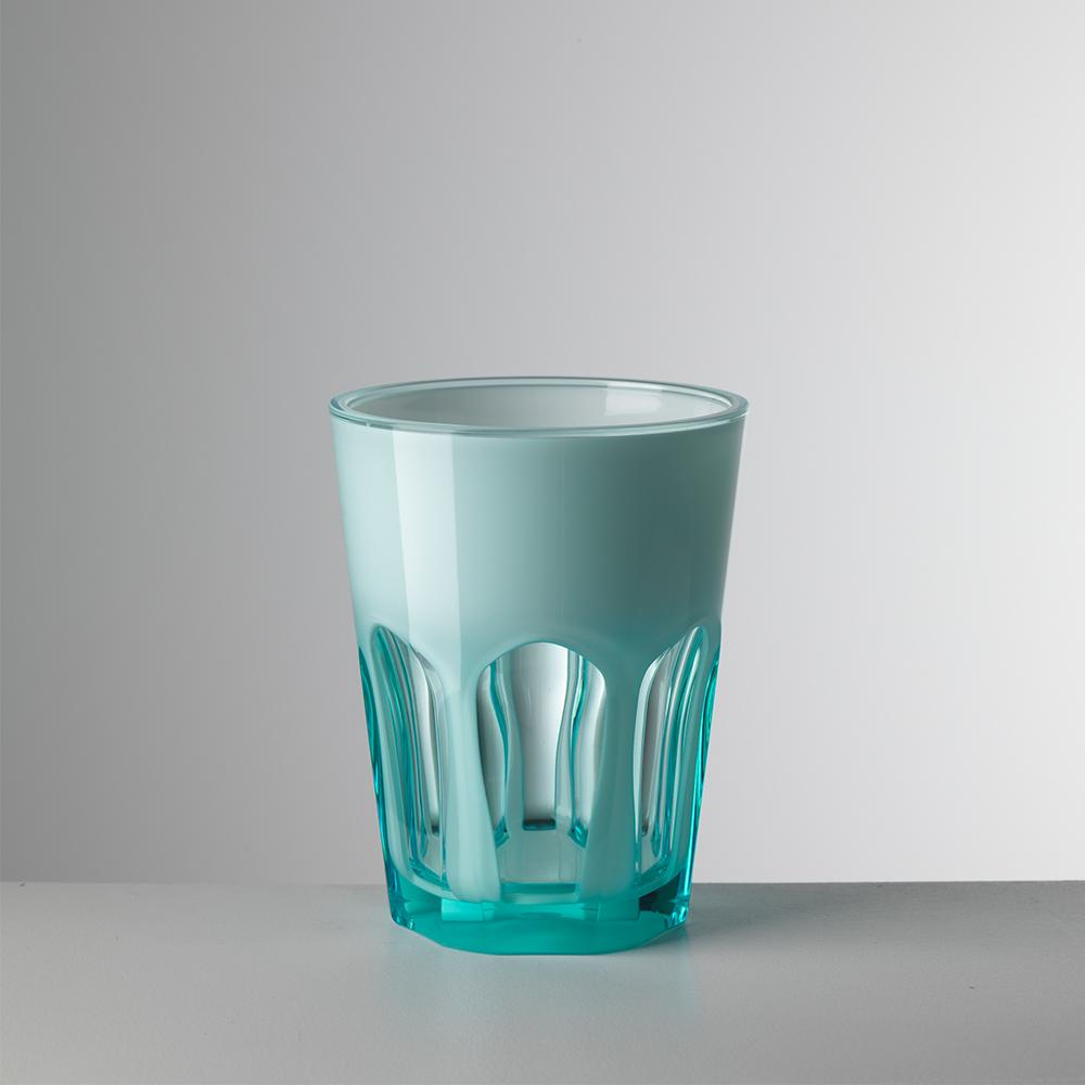 Vaso corto Double Face - Azul