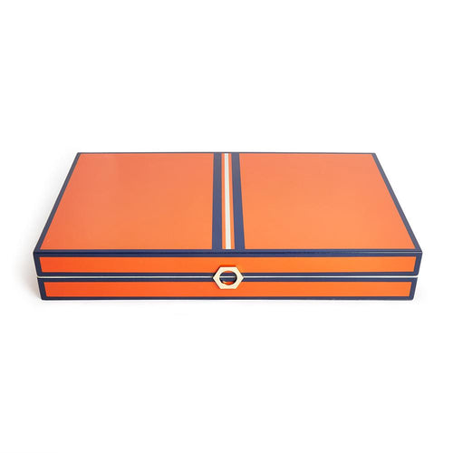 Lacquer Backgammon - Naranja