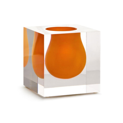 Florero Bel Air Mini Scoop Naranja - (Vzla)