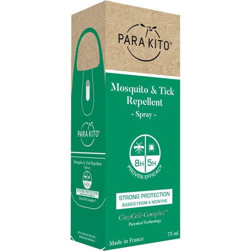 Parakito Mosquito & Tick Repellent spray - all natural - chemical and DEET free