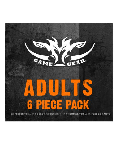 6 Piece Fleece Pack for hunting and outdoor