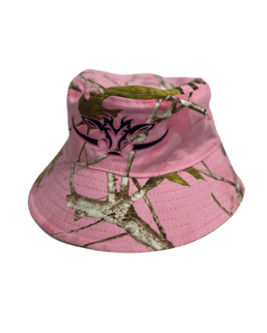 Pink Camo Reversible Bucket Hat