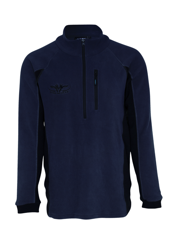 Navy colour micro fleece long sleeve top