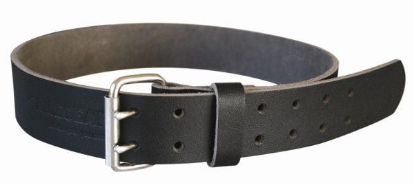 Game Gear New Zealand Made Full Grain Leather Belt 50mm wide