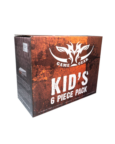 Kids 6 Piece Fleece Pack