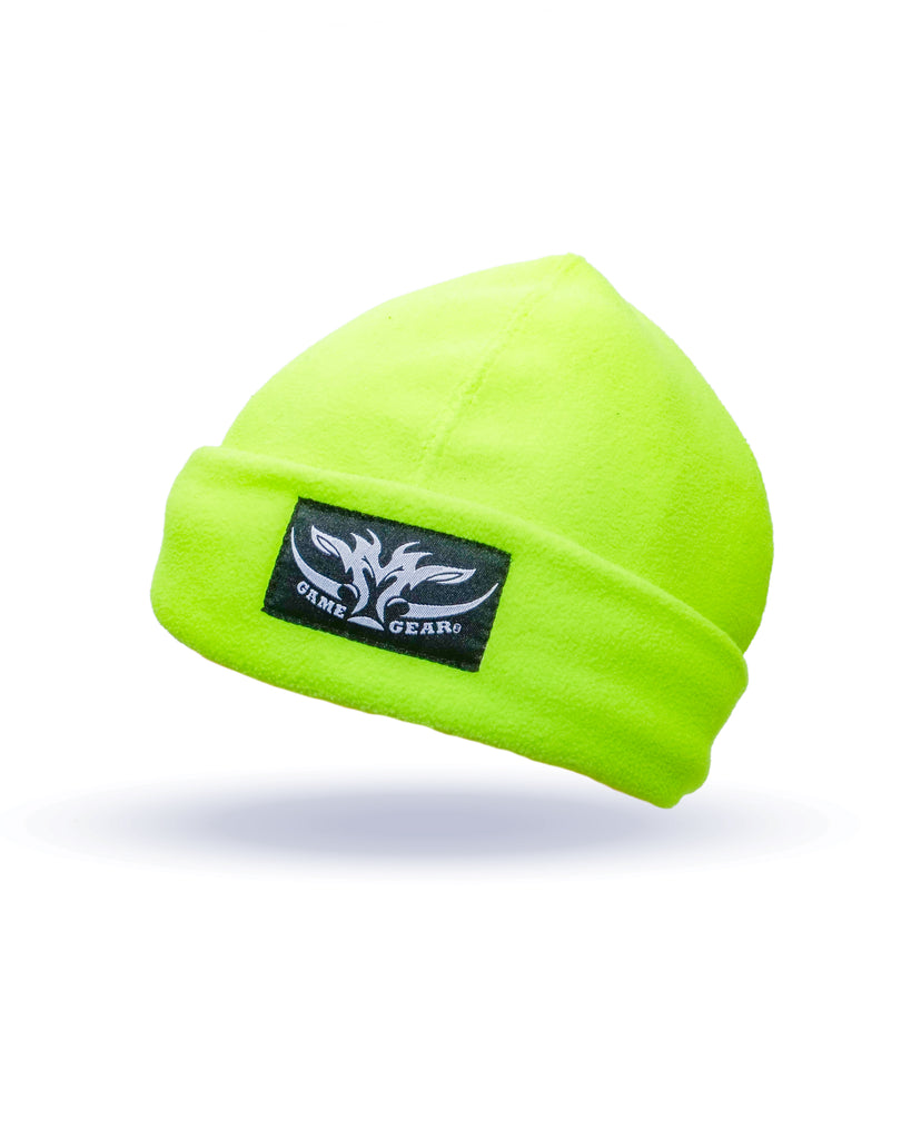 Yellow Hi Viz Fleece Beanie