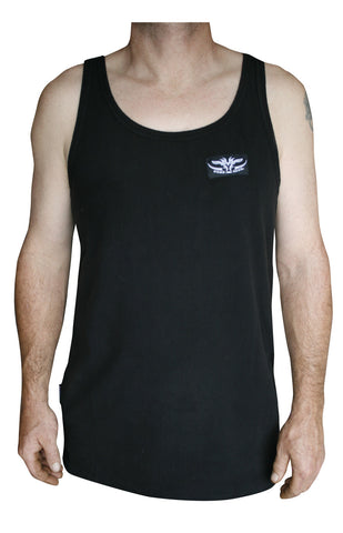 Black MicroFleece Singlet