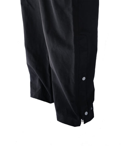 Kids Black waterproof trousers for hunting and outdoors
