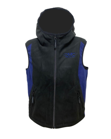 kids sherpa vest hard wearing and totally windproof