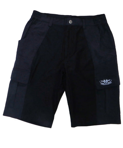 Black Original Urban Shorts NZ with pockets for hunting, fishing and outdoors