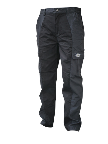 Black Trousers with pockets for hunting and outdoors