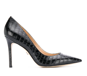 Sam Edelman Hazel Black Croco