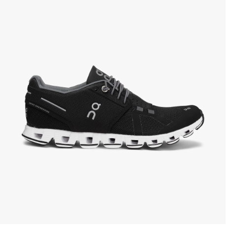 Women's On Running Cloud Black/White