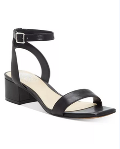 Vince Camuto Jantta Black Leather