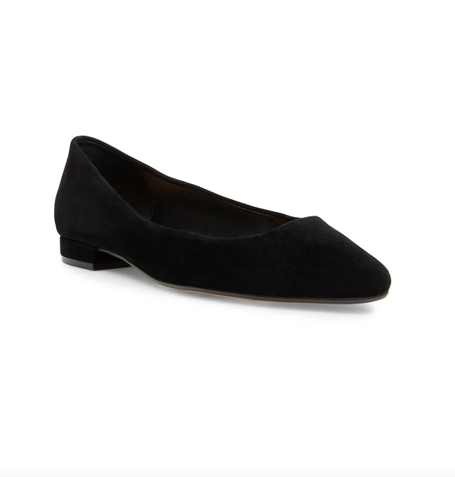 Steven Bantry Black Suede