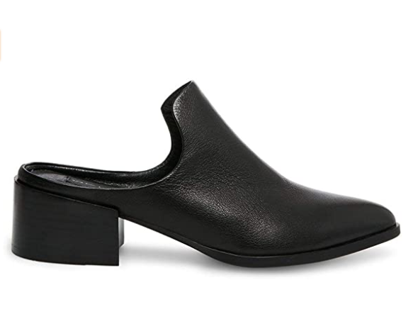 Steven Dakota Black Leather