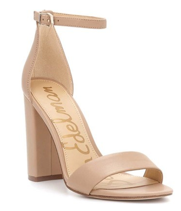 Sam Edelman Yaro Nude Leather