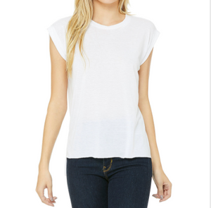 Bella + Canvas Muscle Tee White