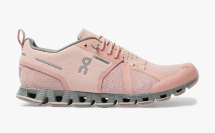 Women's On Running Cloud Waterproof Rose/Lunar