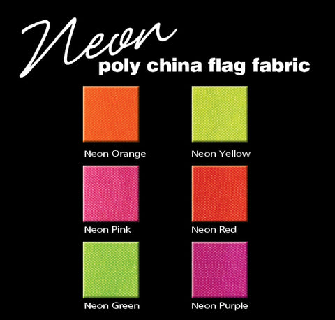 Neon Poly China Silk