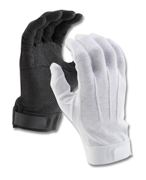 SURE GRIP DELUXE COTTON GLOVE WITH VELCRO CLOSURE