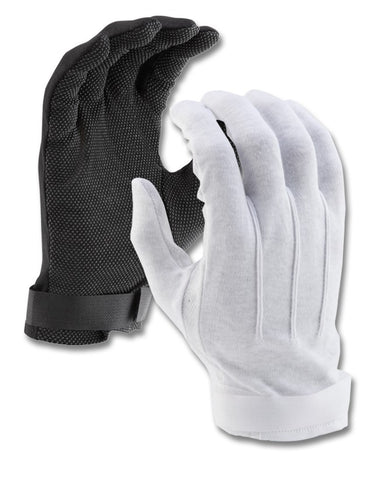 SURE GRIP ECONO COTTON GLOVE WITH VELCRO CLOSURE