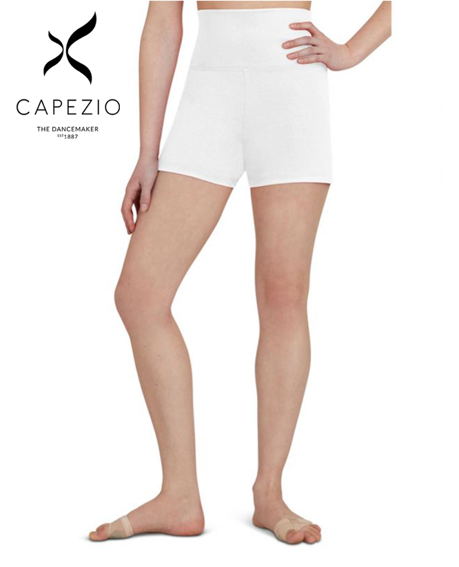 CAPEZIO HIGH WAISTED SHORTS