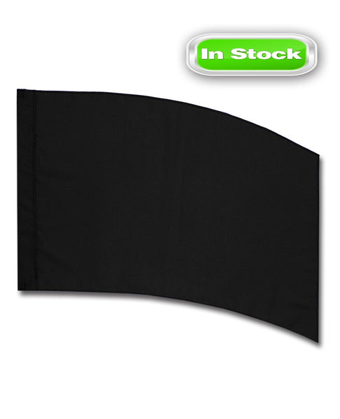 POLY CHINA SILK - RECTANGLE - BLACK
