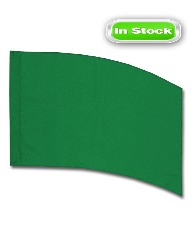 POLY CHINA SILK - RECTANGLE - GREEN