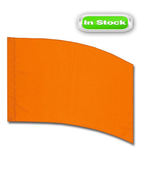 POLY CHINA SILK - RECTANGLE - ORANGE