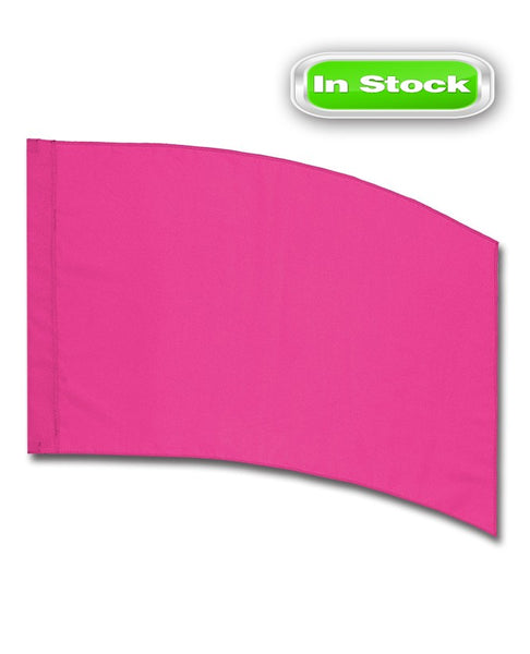 POLY CHINA SILK - RECTANGLE - PINK