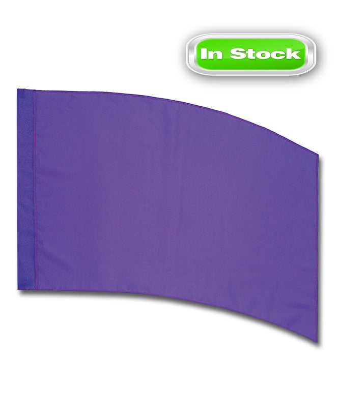 POLY CHINA SILK - RECTANGLE - PURPLE