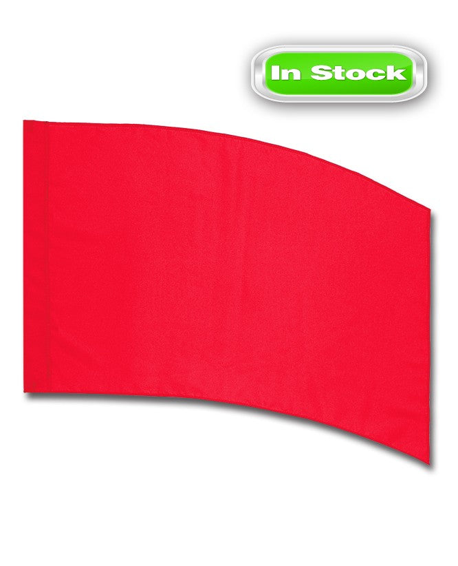POLY CHINA SILK - RECTANGLE - RED