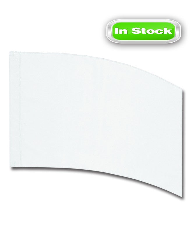 POLY CHINA SILK - RECTANGLE - WHITE