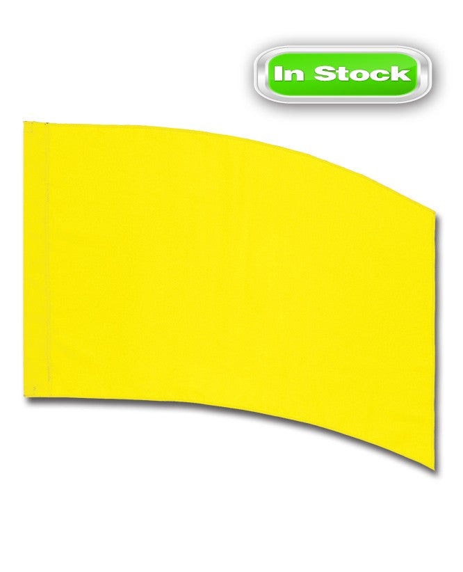 POLY CHINA SILK - RECTANGLE - YELLOW