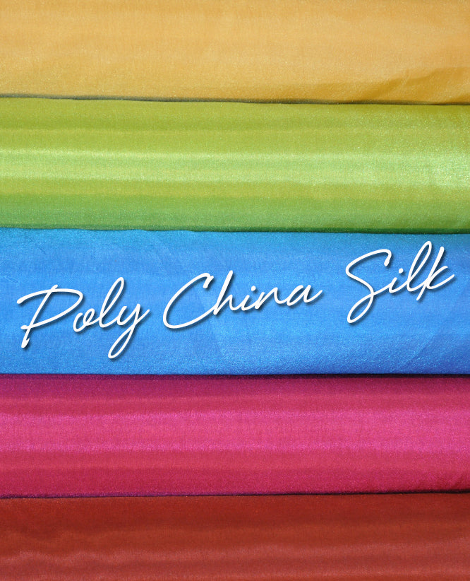 Poly China Silk 1