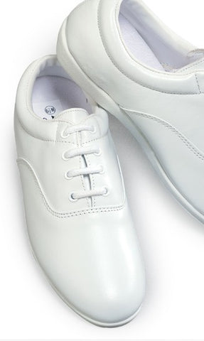 THE PINNACLE MARCHING SHOE (WHITE)