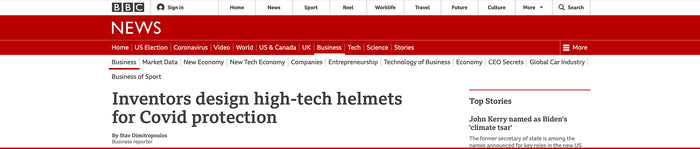 OCTO® Respirator Mask featured in BBC