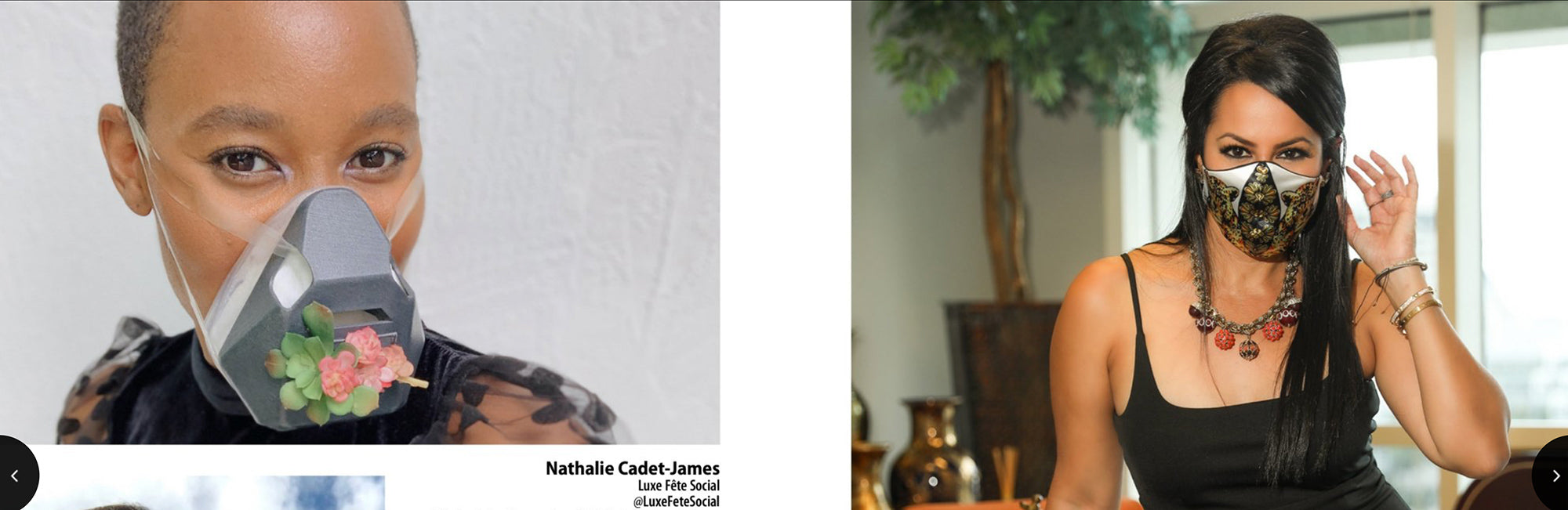 Brickell Magazine Features Nathalie Cadet-James Wearing ORM
