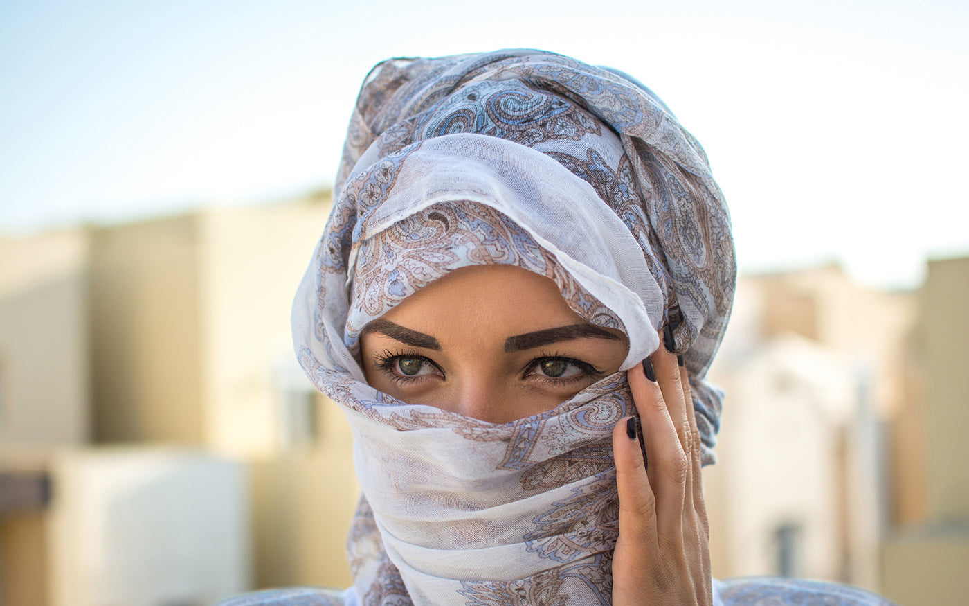 Arabic face covering