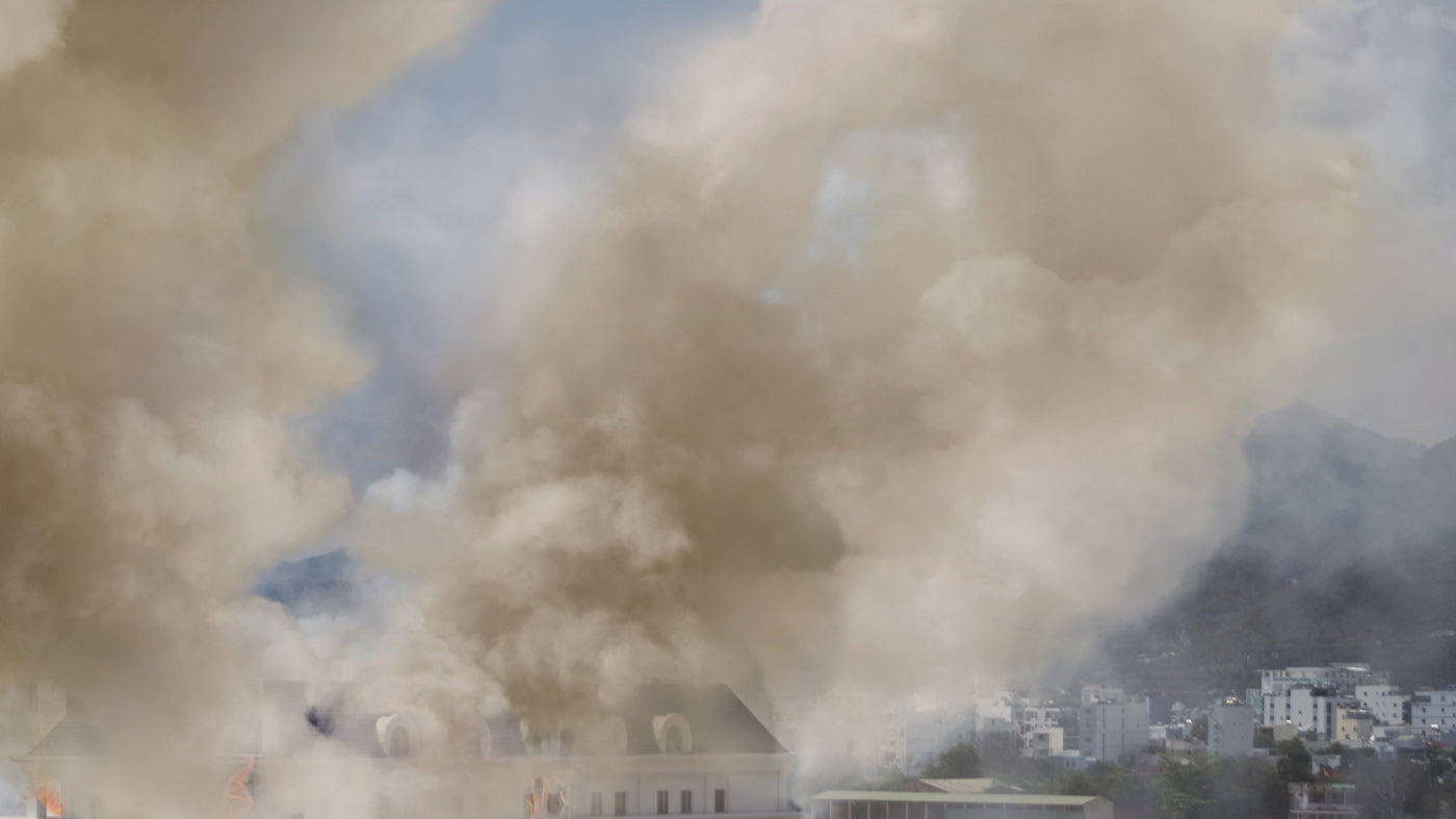 When Tragedy Strikes-Disaster Air Quality