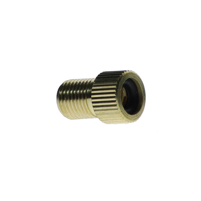 Brass Adaptor With Rubber Seal Presta Schrader Pump Valve Adaptor Connector