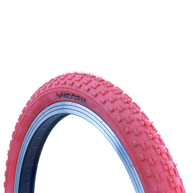 "Vandorm 20"" x 1.95"" COMP 3 BMX Tyre RED"