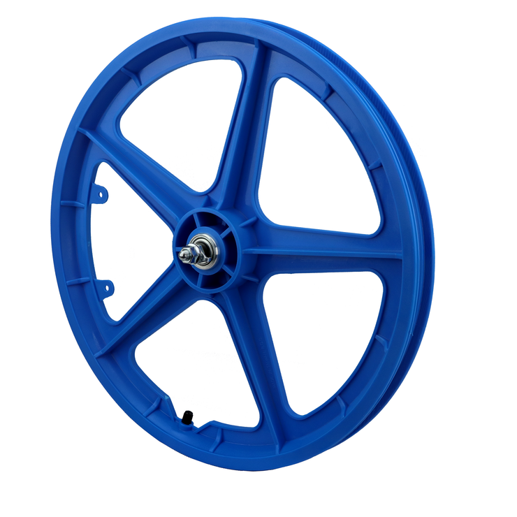 "Vandorm 20"" Front BMX Mag Wheel 5 Spoke Straight BLUE"
