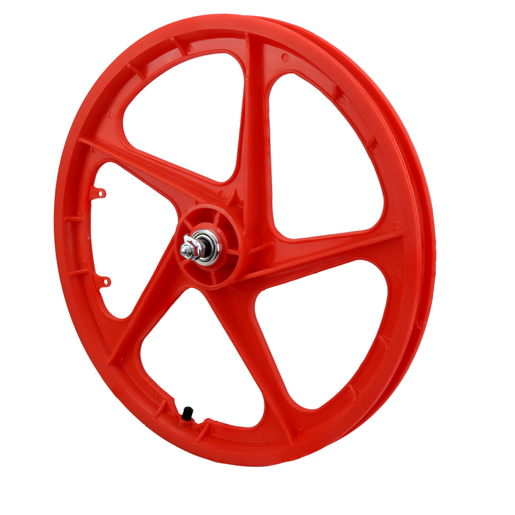 "Vandorm 20"" Front BMX Mag Wheel 5 Spoke Aero RED"