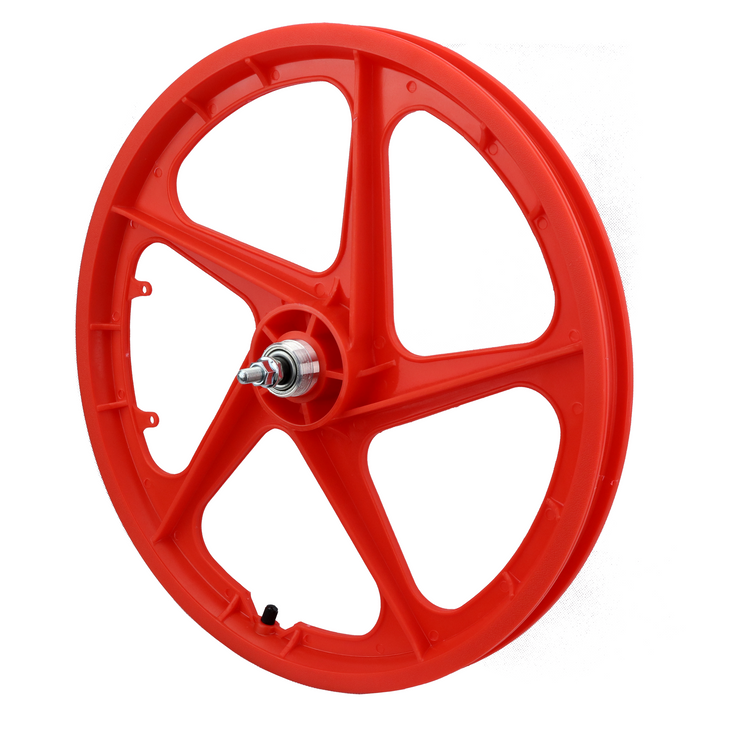"Vandorm 20"" Rear BMX Mag Wheel 5 Spoke Aero RED"