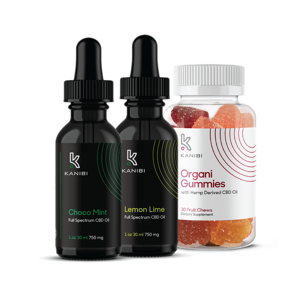 NEW! CBD Combo Pack w/ Gummies