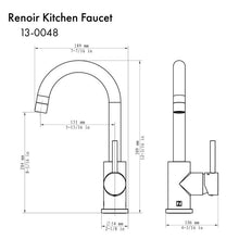 Load image into Gallery viewer, ZLINE Renoir Kitchen Faucet