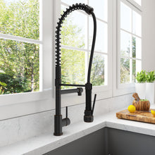 Load image into Gallery viewer, BOCCHI Maggiore Spiral Pull-Down Spray Kitchen Faucet 2015 0001 ORB Oil Rubbed Bronze